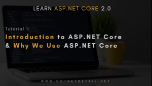 Introduction to ASP.NET Core 2.0