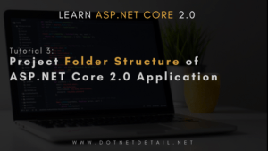 Project Folder Structure of ASP NET Core 2.0 Application