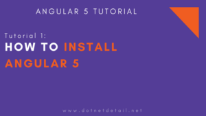 How to Setup Angular 5 Project using Angular CLI in VS Code