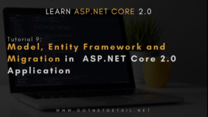 What is Entity Framework Core in ASP.NET Core 2.0