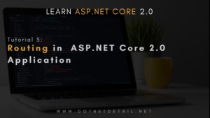Routing in ASP.NET Core 2.0 Application