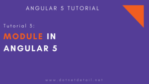 What is module in Angular 5