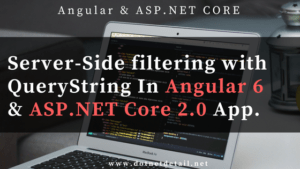 How to implement Server-Side filtration in Angular & ASP.NET Core App