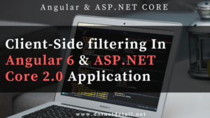 How to implement Search Functionality in Angular 6 & ASP.NET Core Application