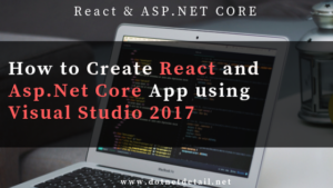 React app with asp.net core