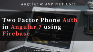 How to add two factor authentication (2fa) in angular 7 using firebase